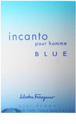 Salvatore Ferragamo Incanto Blue toaletná voda pre mužov 4