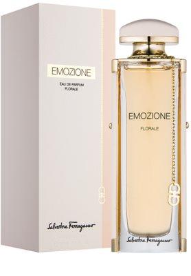 Salvatore Ferragamo Emozione Florale eau de parfum para mujer 1