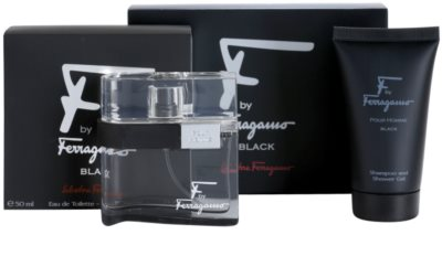 Salvatore Ferragamo F by Ferragamo Black darilni set 1