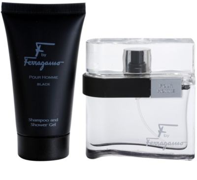 Salvatore Ferragamo F by Ferragamo Black подаръчен комплект 2