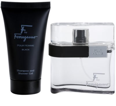 Salvatore Ferragamo F by Ferragamo Black darilni set 2