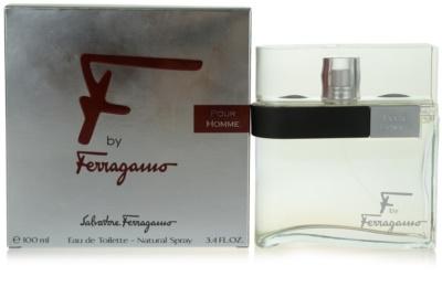Salvatore Ferragamo F by Ferragamo Pour Homme eau de toilette férfiaknak