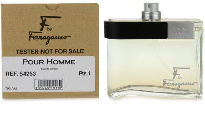 Salvatore Ferragamo F by Ferragamo Pour Homme eau de toilette teszter férfiaknak 1