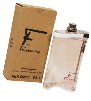 Salvatore Ferragamo F for Fascinating toaletní voda tester pro ženy