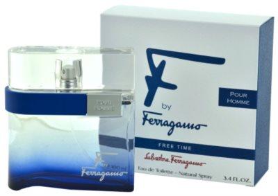 Salvatore Ferragamo F by Ferragamo Free Time eau de toilette férfiaknak