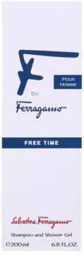 Salvatore Ferragamo F by Ferragamo Free Time żel pod prysznic dla mężczyzn 2