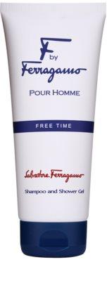 Salvatore Ferragamo F by Ferragamo Free Time żel pod prysznic dla mężczyzn 1