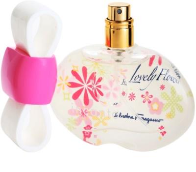 Salvatore Ferragamo Incanto Lovely Flower eau de toilette nőknek 3