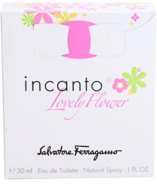 Salvatore Ferragamo Incanto Lovely Flower eau de toilette nőknek 4