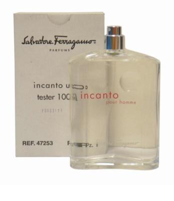 Salvatore Ferragamo Incanto Pour Homme woda toaletowa tester dla mężczyzn