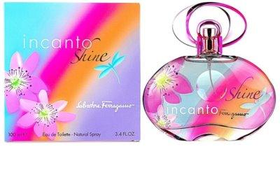 Salvatore Ferragamo Incanto Shine Eau de Toilette pentru femei