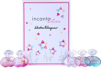 Salvatore Ferragamo Incanto Collection lotes de regalo