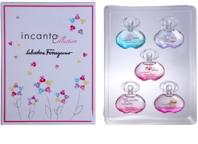 Salvatore Ferragamo Incanto Collection подарункові набори 1