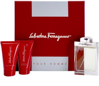 Salvatore Ferragamo Pour Homme ajándékszett