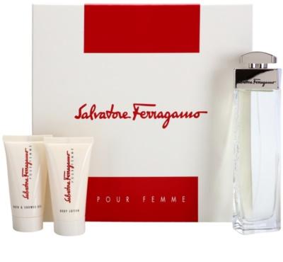 Salvatore Ferragamo Pour Femme подаръчен комплект