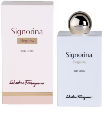 Salvatore Ferragamo Signorina Eleganza leite corporal para mulheres