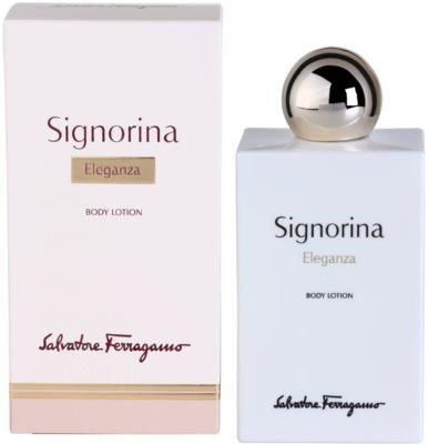 Salvatore Ferragamo Signorina Eleganza молочко для тіла для жінок