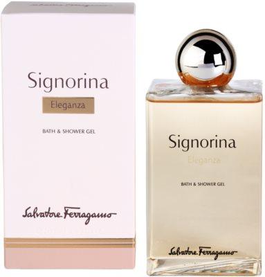 Salvatore Ferragamo Signorina Eleganza gel de duche para mulheres