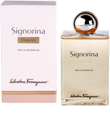 Salvatore Ferragamo Signorina Eleganza gel de dus pentru femei