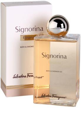 Salvatore Ferragamo Signorina Eleganza żel pod prysznic dla kobiet 1