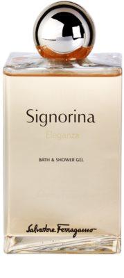 Salvatore Ferragamo Signorina Eleganza żel pod prysznic dla kobiet 2