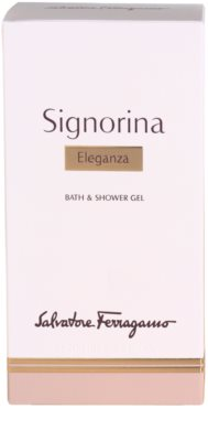 Salvatore Ferragamo Signorina Eleganza żel pod prysznic dla kobiet 3