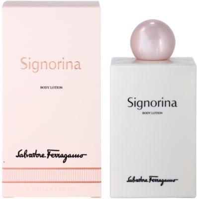 Salvatore Ferragamo Signorina tělové mléko pro ženy