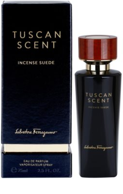 Salvatore Ferragamo Tuscan Scent: Incense Suede Eau de Parfum unissexo