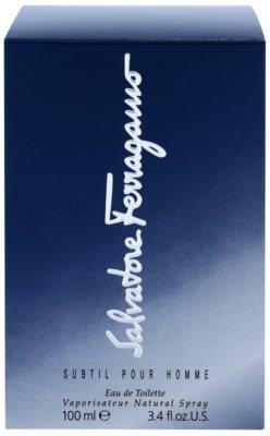 Salvatore Ferragamo Subtil Pour Homme Eau de Toilette para homens 5