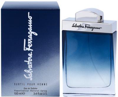 Salvatore Ferragamo Subtil Pour Homme toaletna voda za moške