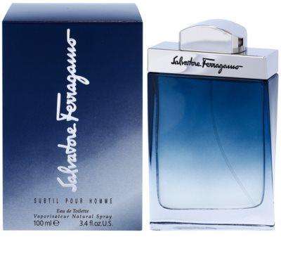 Salvatore Ferragamo Subtil Pour Homme woda toaletowa dla mężczyzn