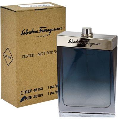 Salvatore Ferragamo Subtil Pour Homme eau de toilette teszter férfiaknak