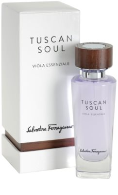 Salvatore Ferragamo Tuscan Soul Quintessential Collection Viola Essenziale Eau de Toilette unisex 1