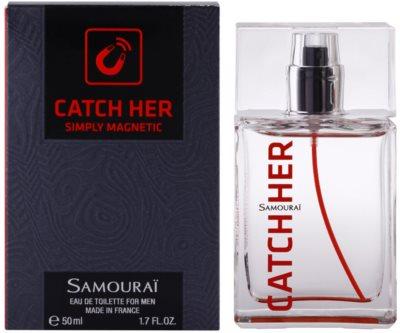 Samourai Catch Her Eau de Toilette para homens