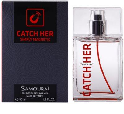 Samourai Catch Her Eau de Toilette pentru barbati