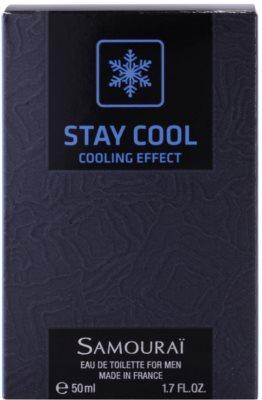 Samourai Stay Cool Eau de Toilette pentru barbati 4