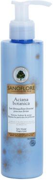 Sanoflore Aciana Botanica mleczko oczyszczajace o dzłałaniu nawilżającym