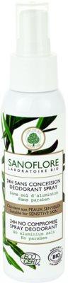 Sanoflore Déodorant Deospray ohne Aluminium 24 Std.
