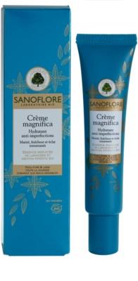 Sanoflore Magnifica зволожуючий крем для шкіри з недоліками 1