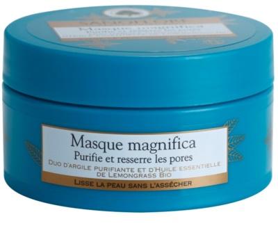 Sanoflore Magnifica máscara de limpeza para pele com imperfeições