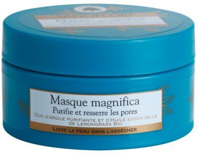 Sanoflore Magnifica Reinigungsmaske für Haut mit kleinen Makeln