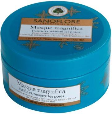 Sanoflore Magnifica maseczka oczyszczająca do skóry z niedoskonałościami 2