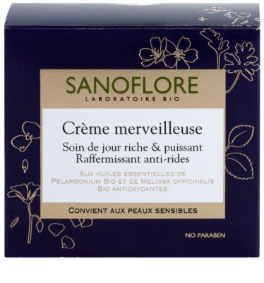Sanoflore Merveilleuse učvrstitvena in hranilna krema proti gubam 3