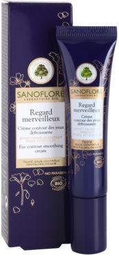 Sanoflore Merveilleuse crema para contorno de ojos suavizante antiarrugas 1