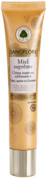 Sanoflore Miel Supreme Visage nährende Crem für klare und glatte Haut