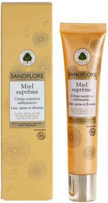 Sanoflore Miel Supreme Visage nährende Crem für klare und glatte Haut 1