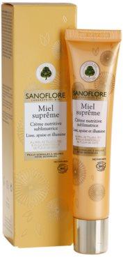 Sanoflore Miel Supreme Visage nährende Crem für klare und glatte Haut 2