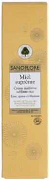 Sanoflore Miel Supreme Visage nährende Crem für klare und glatte Haut 3