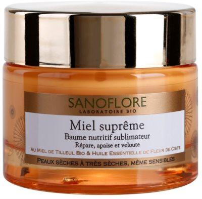 Sanoflore Miel Supreme Visage Nährendes Balsam für trockene bis sehr trockene Haut