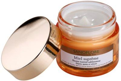 Sanoflore Miel Supreme Visage odżywczy balsam do skóry suchej i bardzo suchej 1